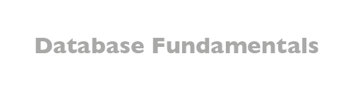 MTA: Database Fundamentals
