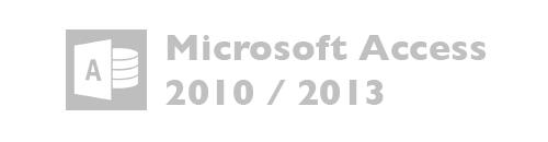 Microsoft Access versiones 2010, 2013