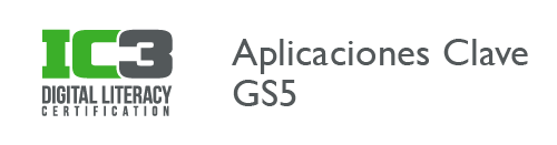 IC3 Aplicaciones Clave GS5