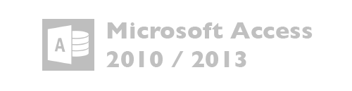 Microsoft Access versiones 2010, 2013