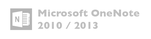 Microsoft OneNote versiones 2010, 2013