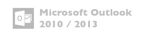 Microsoft Outlook versiones 2010, 2013